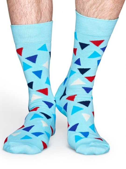Happy Socks Blue Triangle kojines www.sukausa.lt 2