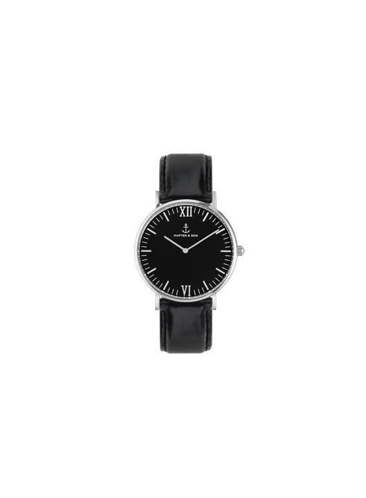 Kapten&son laikrodis juoda apyranke www.sukausa.lt aksesuarai vyrams ir moterims 2